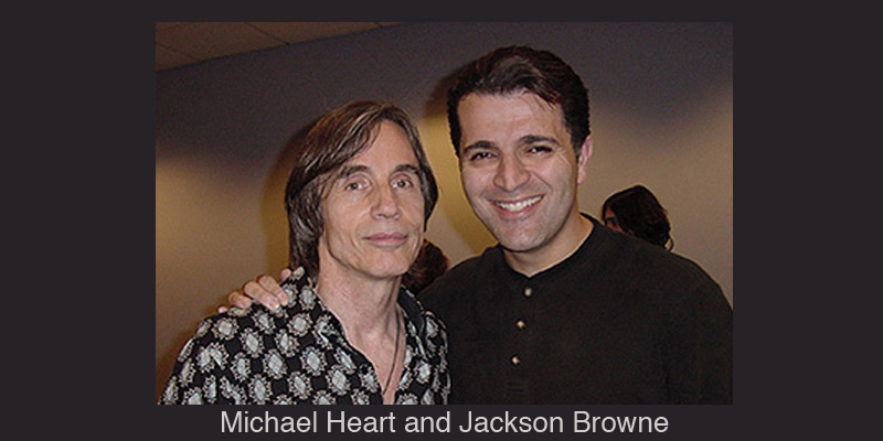 Michael Heart and Jackson Browne
