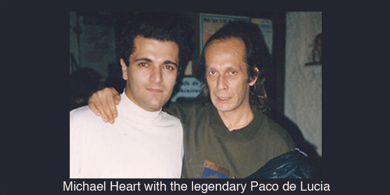 Michael Heart and Paco de Lucia