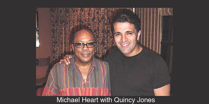 Michael Heart and Quincy Jones